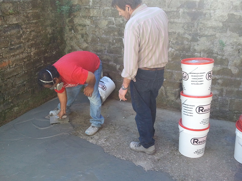 Resine impermeabilizzanti per vasche