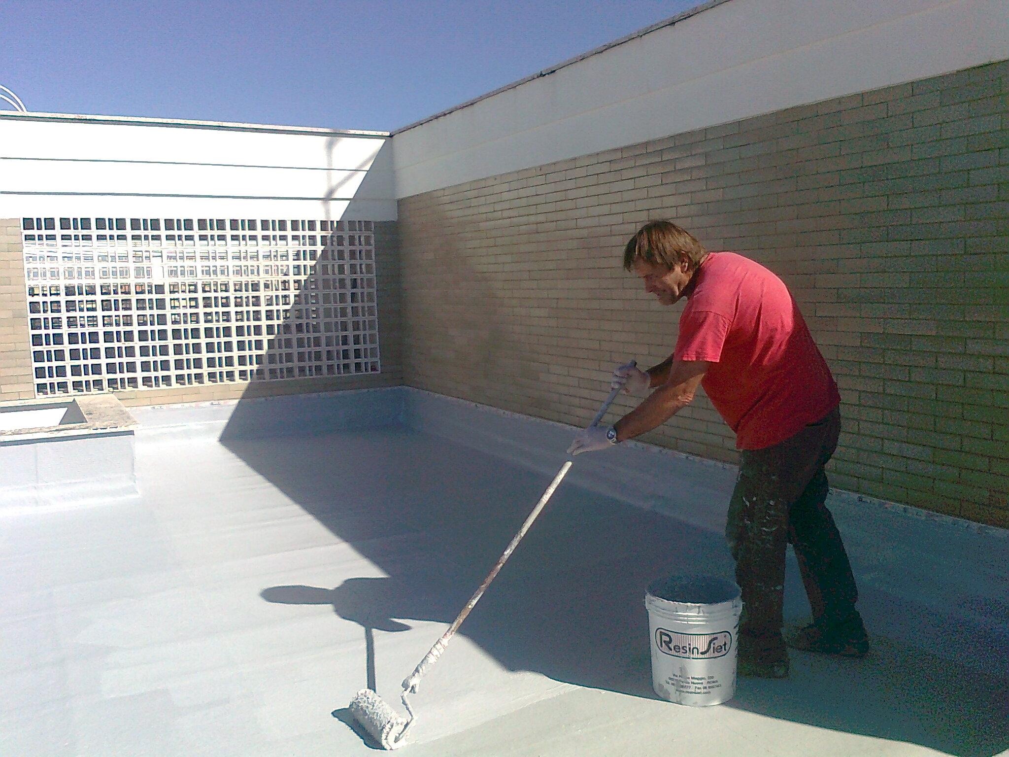 Cam 2 resina impermeabilizzante con o senza interposta - Prodotto impermeabilizzante per terrazzi ...