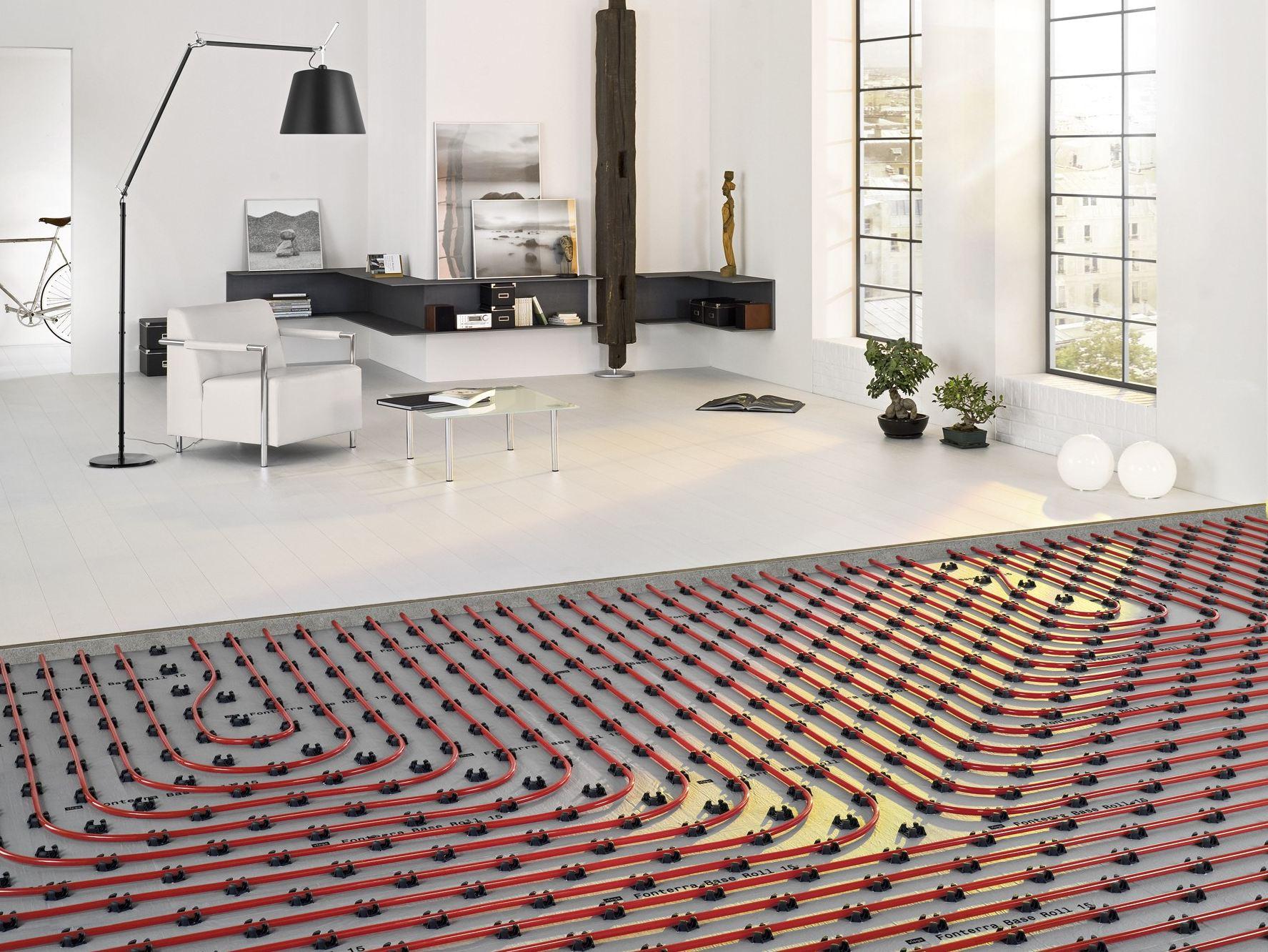 Pavimenti in resina radianti resinsiet srl - Posa piastrelle su pavimento radiante ...