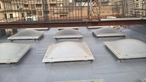 Lastrico solare guaina resina