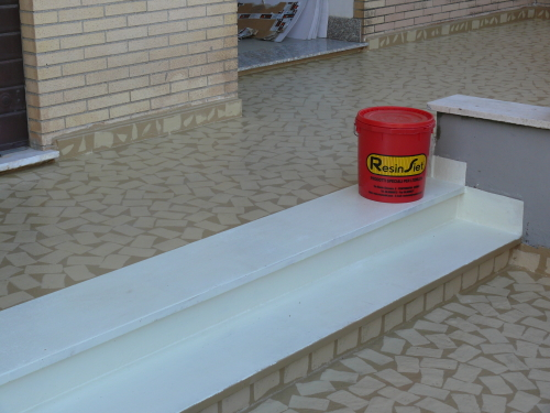 Prostuk fine malta in resine e inerti per pavimenti rivestimenti