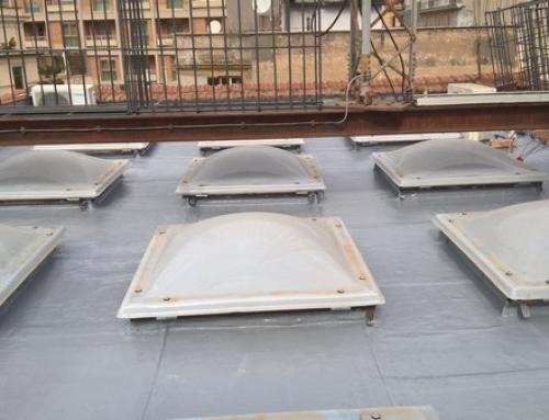 Impermeabilizzazione su lastrico solare con guaina